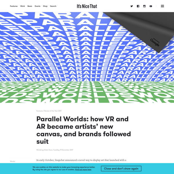 Parallel Worlds: how VR and AR became artists' new canvas, and brands followed suit