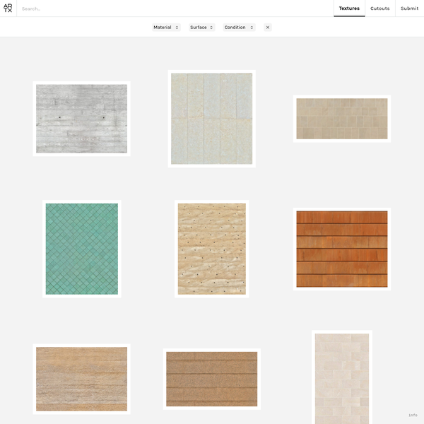 Architextures - Seamless textures for architectural visualisations