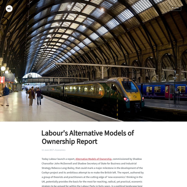 Labour's Alternative Models of Ownership Report