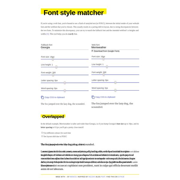 Font style matcher