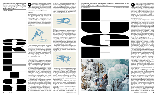 The Winter Olympics Issue - NYT Mag