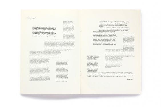 Typographic Circle's Circular Magazine