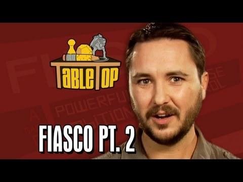 Fiasco pt. 2: Alison Haislip, Bonnie Burton, and John Rogers join Wil on TableTop, episode 9