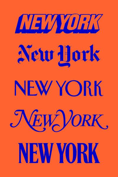 New York by Willem Van Lancker