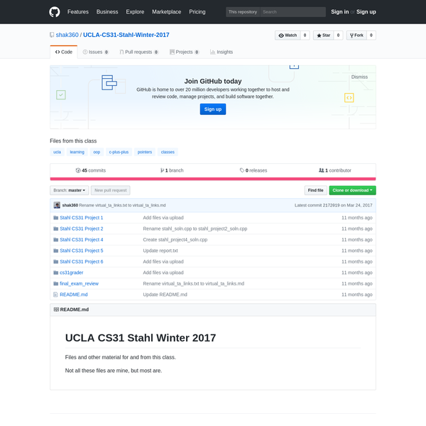 shak360/UCLA-CS31-Stahl-Winter-2017