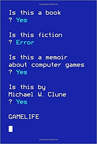 *Gamelife* by Michael Clune, 2015  Recommended by [Maggie Nelson](https://thecreativeindependent.com/people/interview-maggie-nelson/)