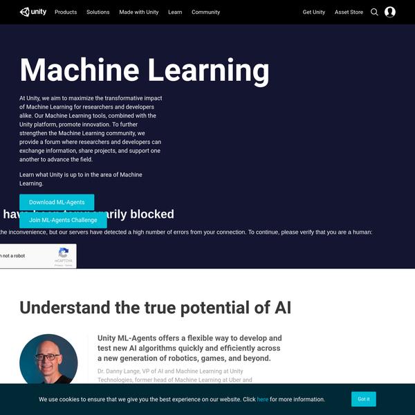 Unity - Machine Learning