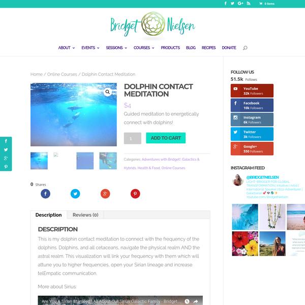 Dolphin Contact Meditation