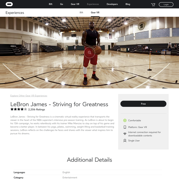LeBron James - Striving for Greatness