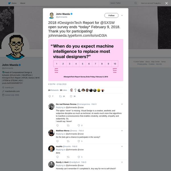 John Maeda on Twitter