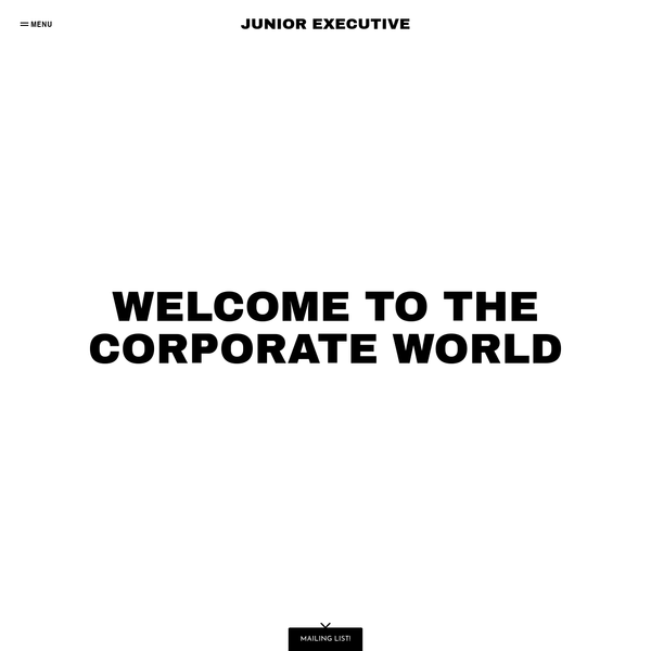 Welcome to JUNIOR EXECUTIVE