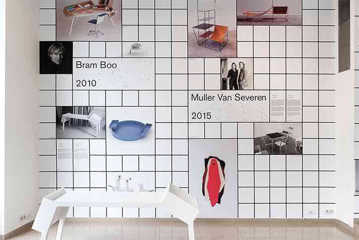 Exhibited grid