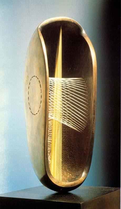 Henry Moore - Stringed Figure: Bowl 1938