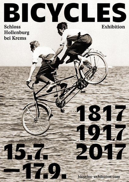 Bicycles Exhibition Poster