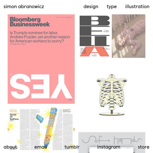 Simon Abranowicz | Design | Type | Illo
