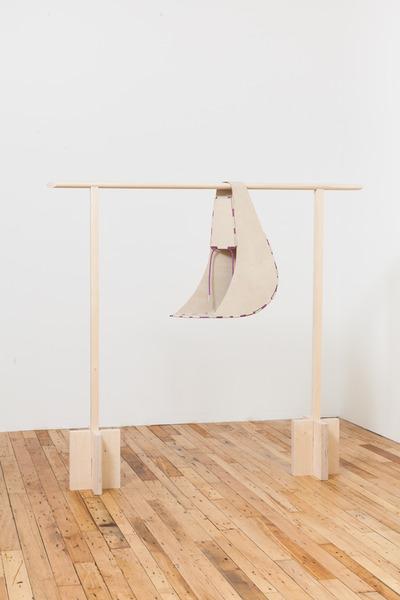 2013.10 Diane Simpson, Sleeve (Cradle), 1997/2013