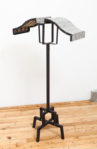 2013.10 Diane Simpson, Collar (Pagoda), 2013