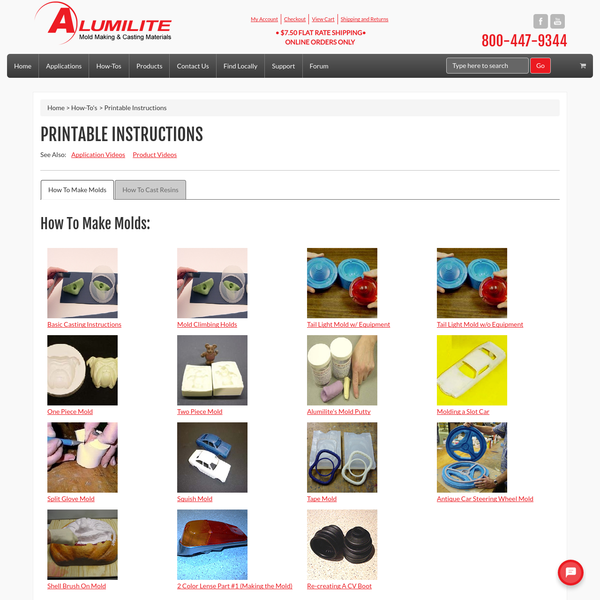 Printable Instructions - Alumilite