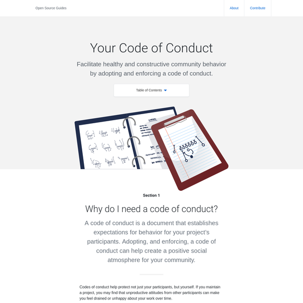 Your Code of Conduct