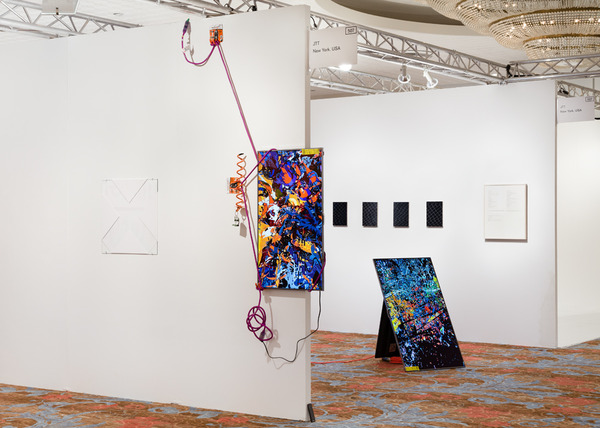 Borna Sammak, Installation view, Borna Sammak and Damon Zucconi, NADA Miami Beach, FL, 2013
