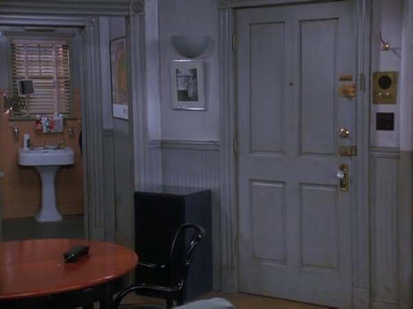"""Every shot from """"Seinfeld"""" (1989-1998) where nothing happens. A response to everyone I met in New York who said they'd love the city if only there weren't so many people in it."""