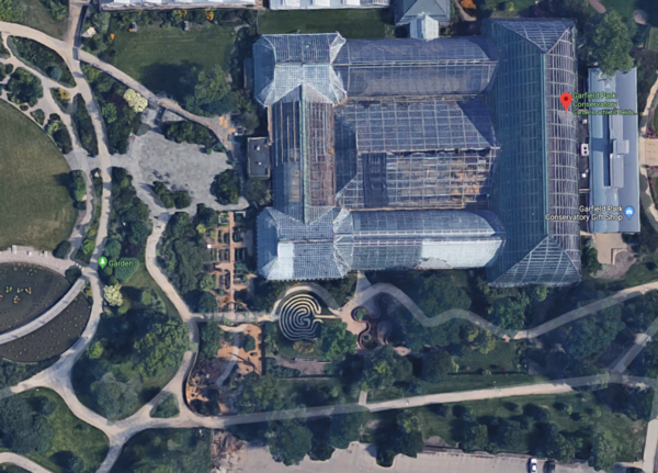 Garfield Park Conservatory, Chicago, IL.