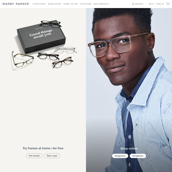 Glasses & Prescription Eyeglasses | Warby Parker