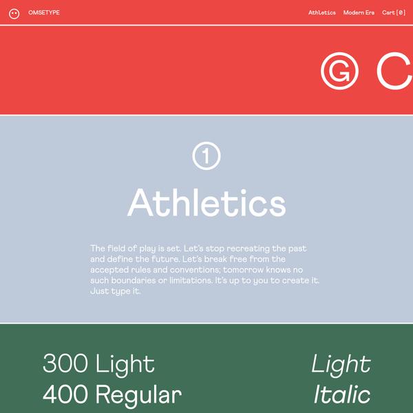 Athletics - Omse Type