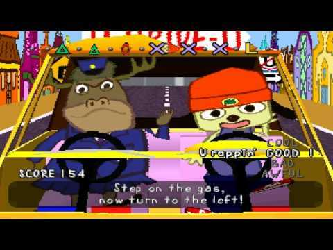 Let's Play PaRappa the Rapper! Stage 2: You Guys Sit in the Back