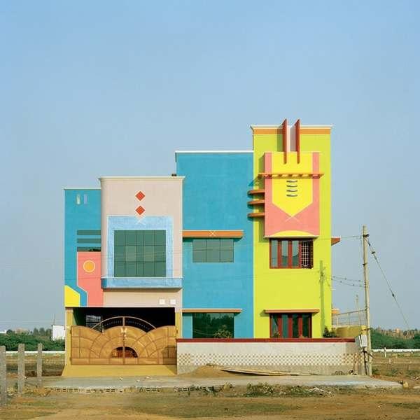 House in Tirunamavalai, India