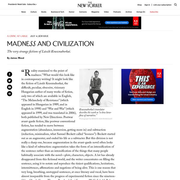Madness And Civilization