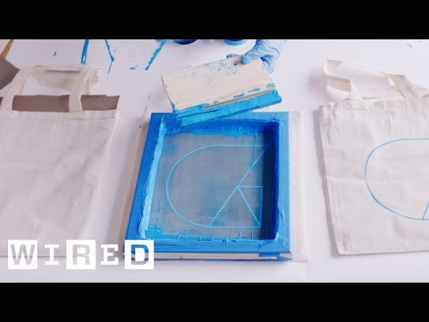 DIY: How To Burn a Silkscreen and Print at Home