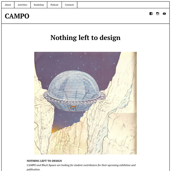 Nothing left to design - CAMPO