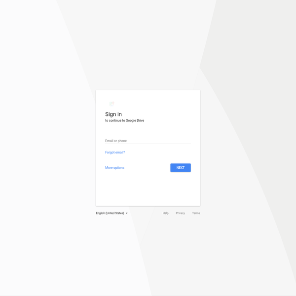 Meet Google Drive - One place for all your files