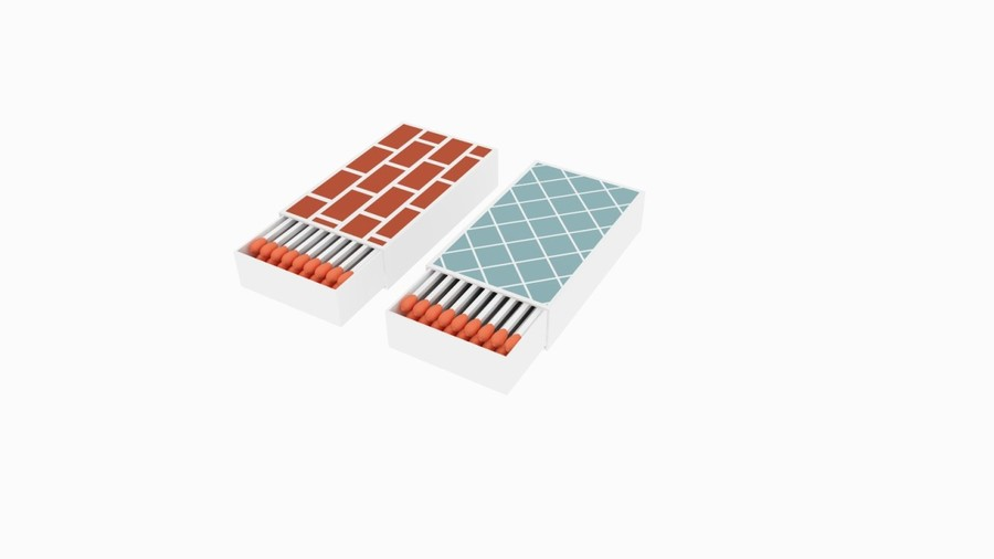 Brick and Tile Strike On Surface