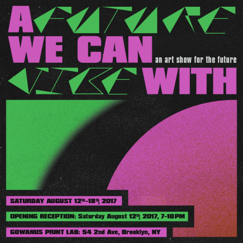 Phil Gibson — A Future We Can Vibe With Flyer