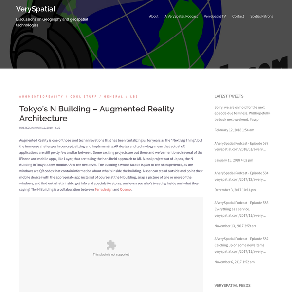 Tokyo's N Building - Augmented Reality Architecture
