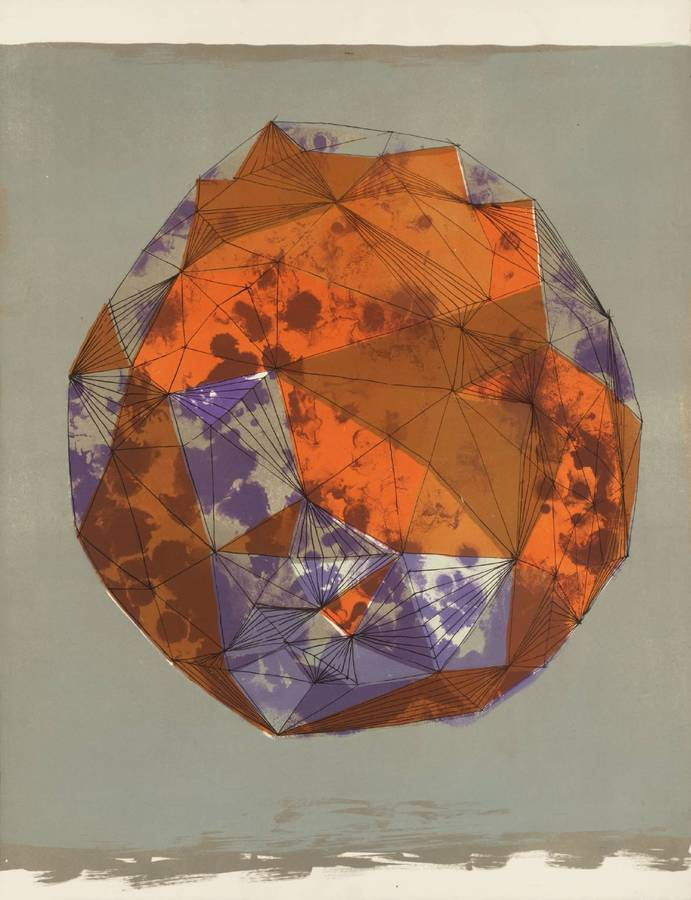 Lynn Chadwick - Moon in Alabama (colour variant) 1963