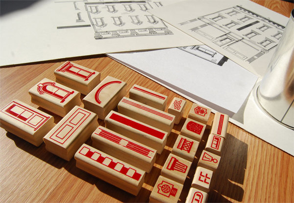 Architectural Stamps