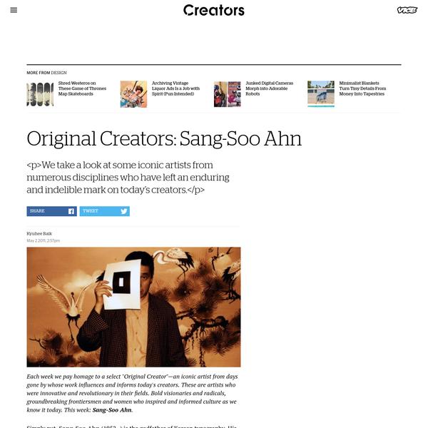 Original Creators: Sang-Soo Ahn