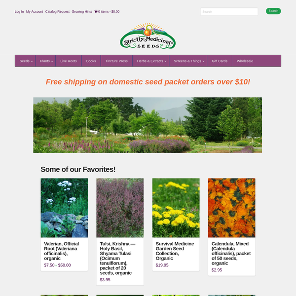 Where to buy seeds online