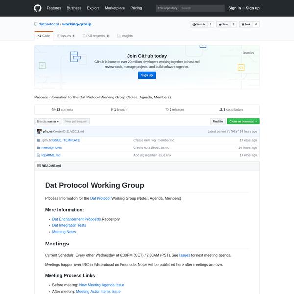 datprotocol/working-group