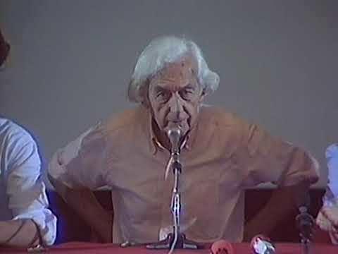 L'Argent (1983) Robert Bresson press conference