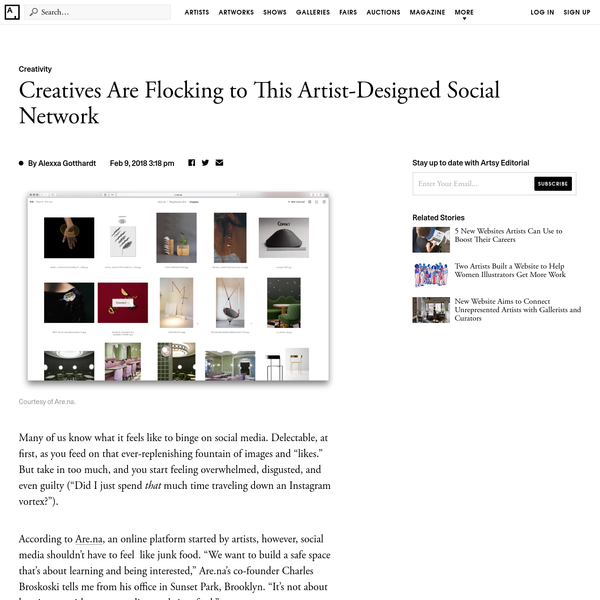 Creatives Are Flocking to This Artist-Designed Social Network