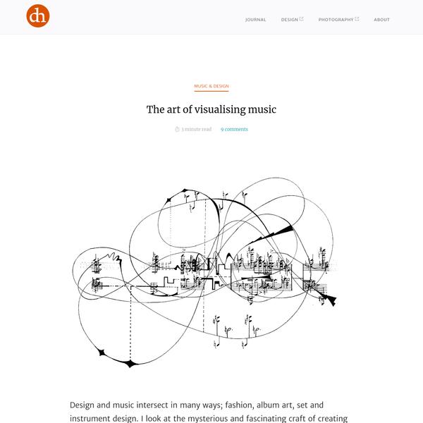 The art of visualising music: graphic scores