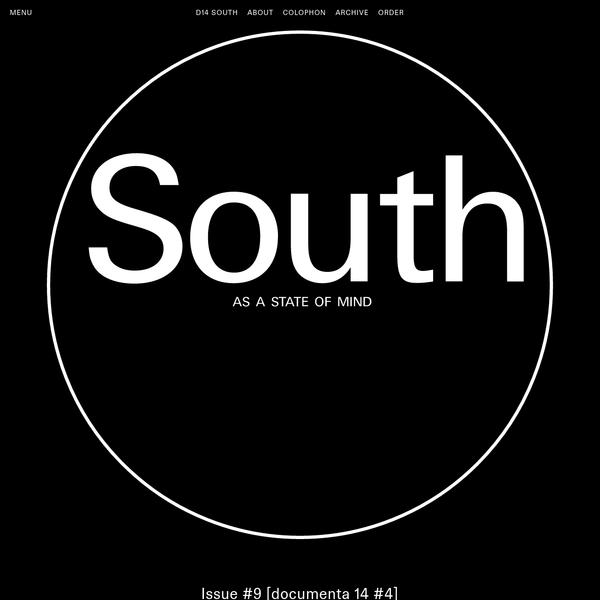 documenta 14 - South Magazine