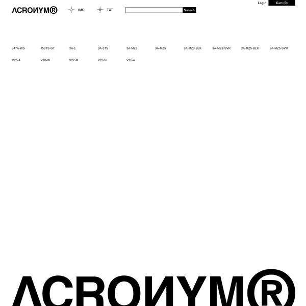 ACRONYM®