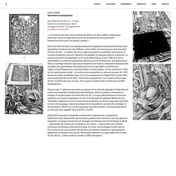 64 p. ISBN 978 293 0601 31 1. 16 euros. Introduction de Christopher S. Wood. 23 images en couleur. 12 images en noir.A paraître le 16 mars 2018.