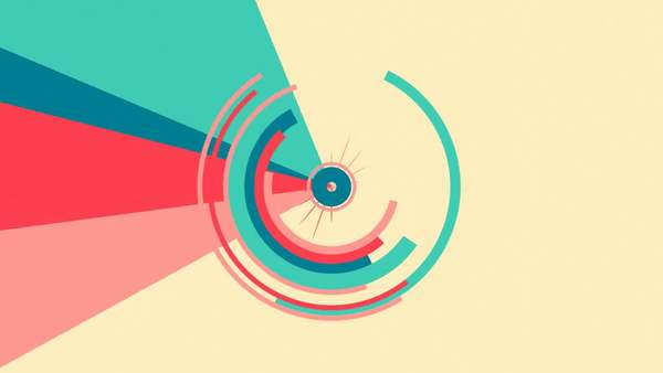 Bibi Plone // Geometric 2D Animation