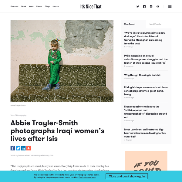 Abbie Trayler-Smith photographs Iraqi women's lives after Isis